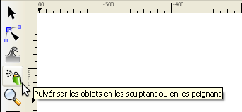 outil spray d'Inkscape
